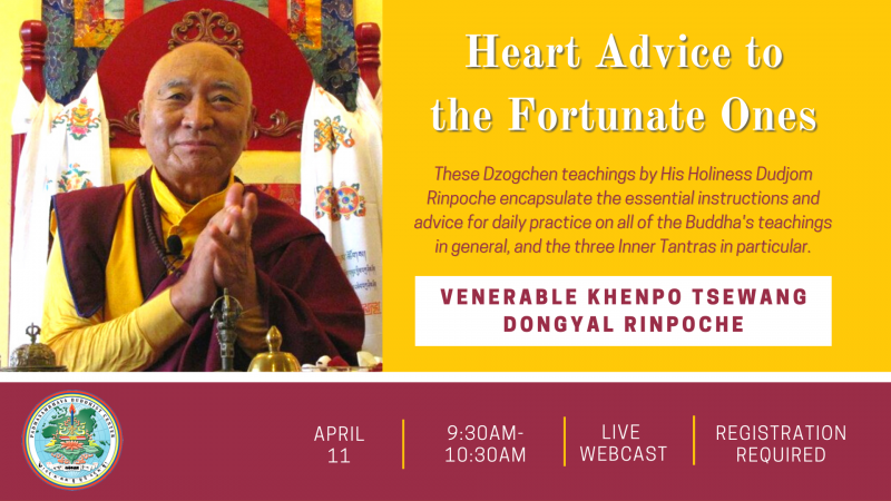 Heart Advice to the Fortunate Ones
