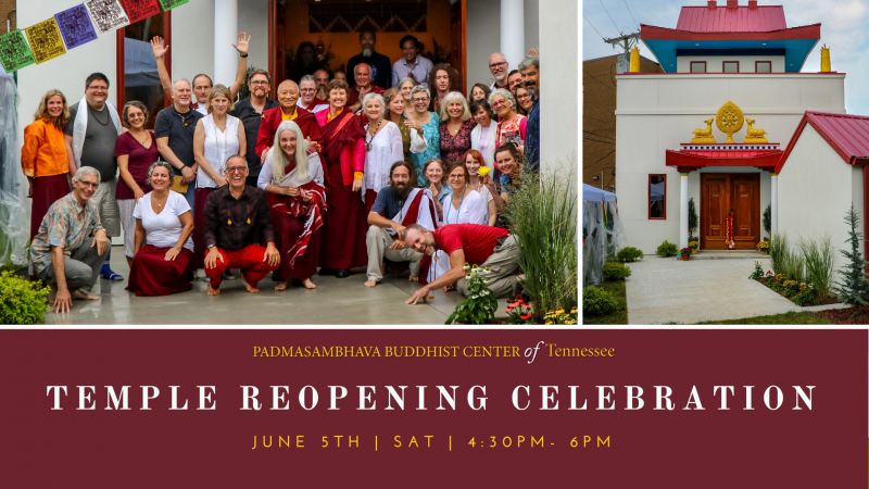 Yeshe Tsogyal Temple Reopening Celebration