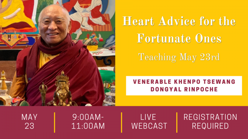 Heart Advice for the Fortunate Ones